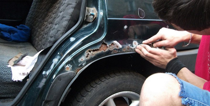Как убрать жучки на машине