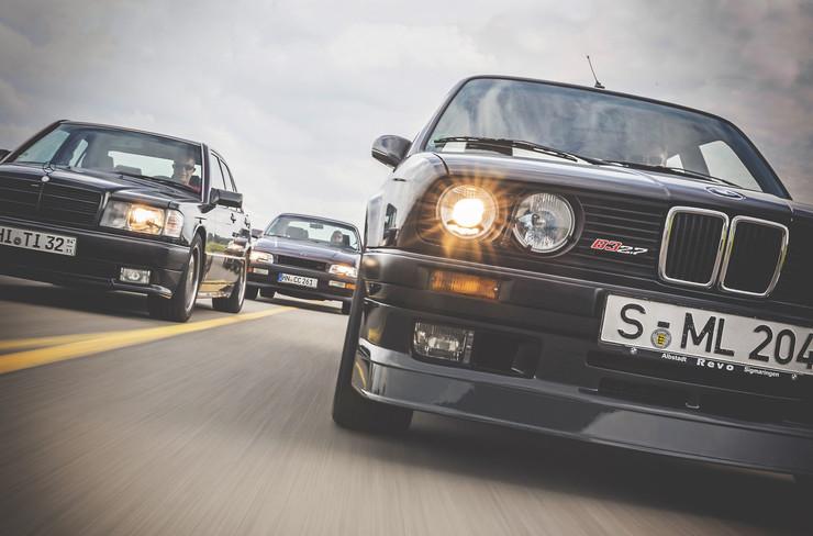 Сравнение лимузинов Alpina, AMG и Irmscher