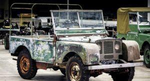Land Rover восстанавливает модель с 1948 года (видео)