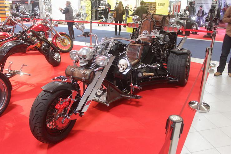 Выставка мотоциклов в Надаржине
