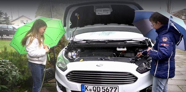 Форд создаёт систему сбора дождевой воды