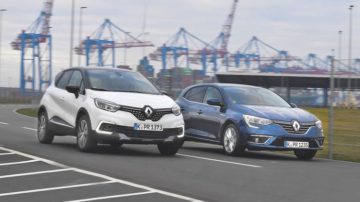 Renault Captur против Megane