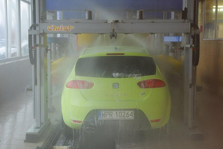 Где и как мыть машину зимой