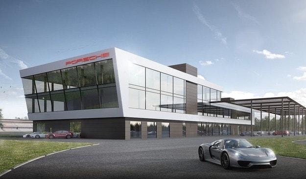 Испытательные центры Porsche