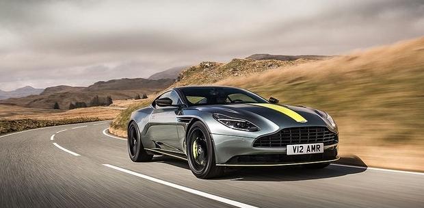 Aston Martin представила суперкар DB11 AMR