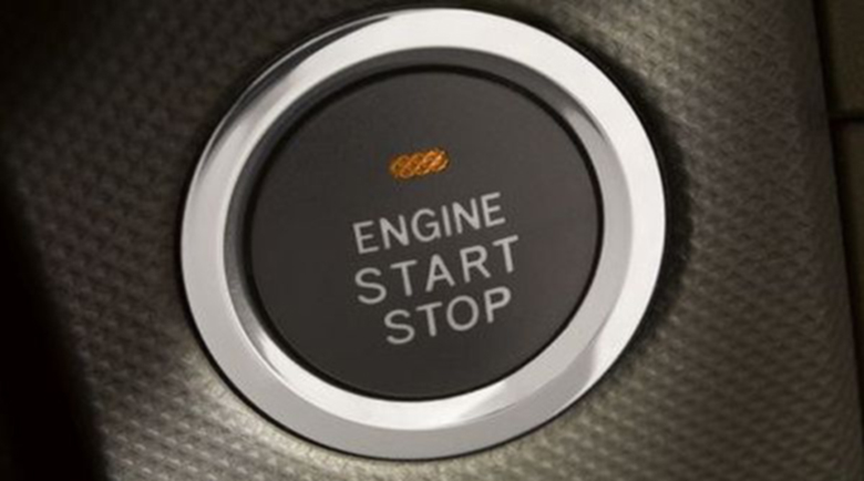 Кнопка запуска двигателя - смертельная опасность