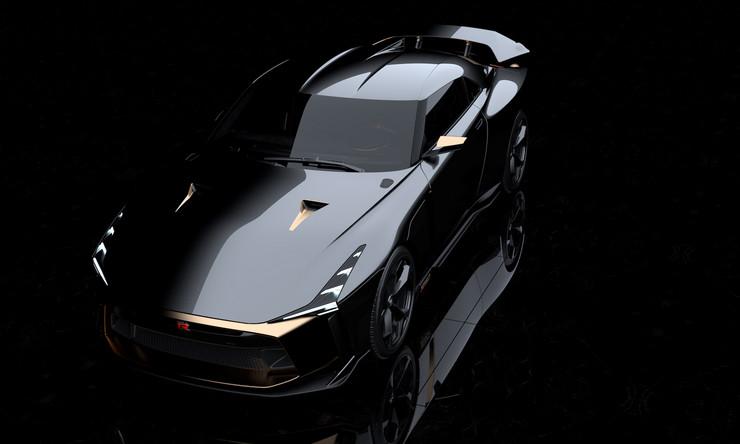 Nissan и Italdesign создали прототип специальной модели GT-R