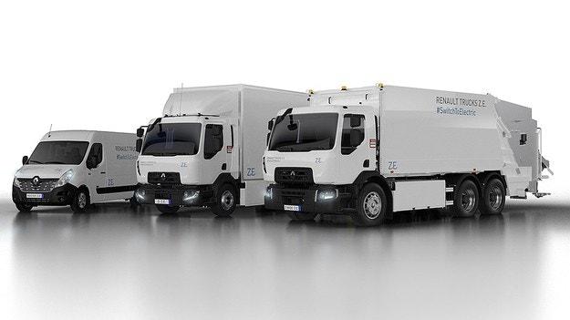 Renault готовит три новых грузовых электромобиля