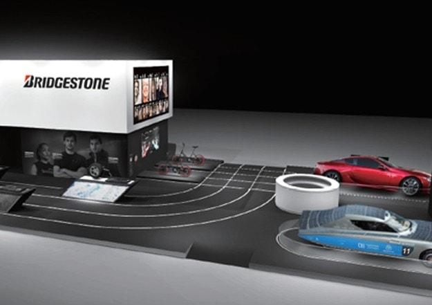 Bridgestone на Парижском автосалоне 2018