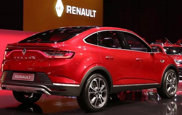 Renault представила новый кроссовер Arcana
