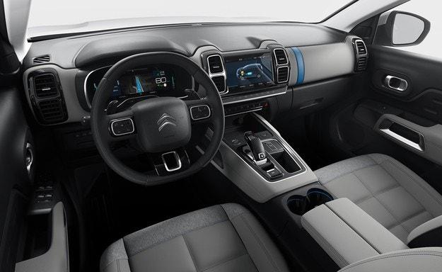 Citroen представит гибридный кроссовер C5 Aircross
