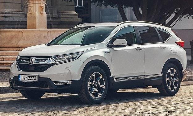Honda представила обновленный гибрид CR-V для Европы