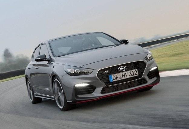 Hyundai представила i30 Fastback