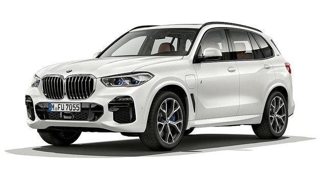 Новое поколение BMW X5 стало гибридным