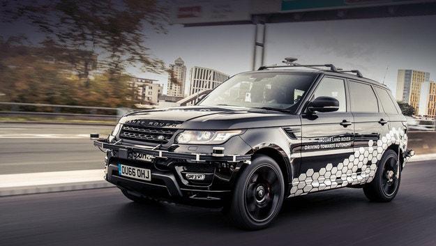 Автономный Range Rover Sport прошел жесткий тест