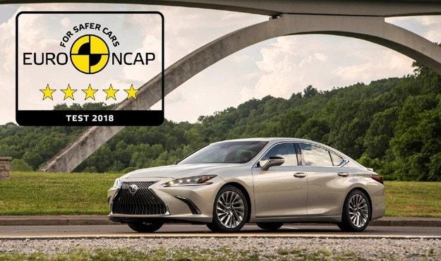 Euro Ncap: новый Lexus ES является одним из самых безопасных