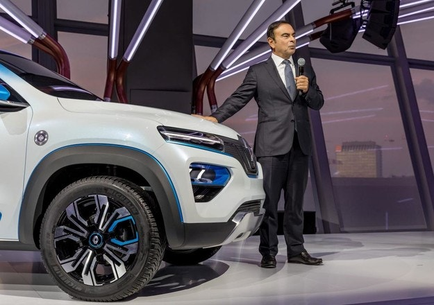 Groupe Renault представляет доступные электромобили