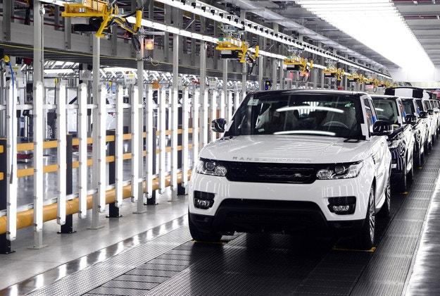 Jaguar Land Rover построил в Словакии завод
