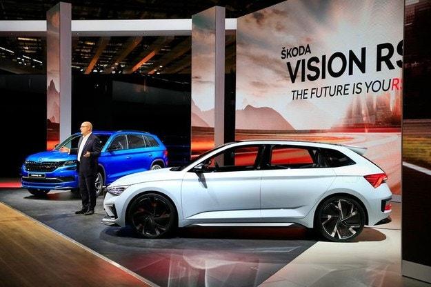 Skoda рассекретила новый прототип Vision RS