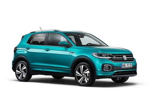 Volkswagen рассекретил новый кроссовер T-Cros