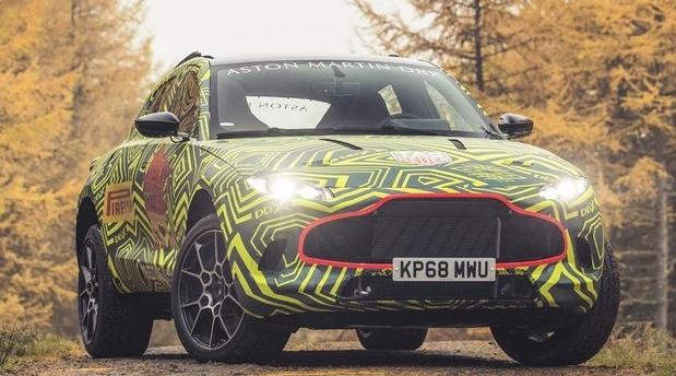 Aston Martin уже тестирует кроссовер DBX