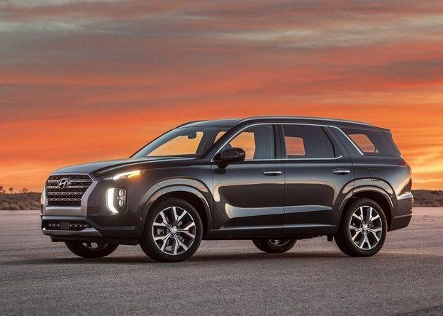 Hyundai представила новый кроссовер Palisade