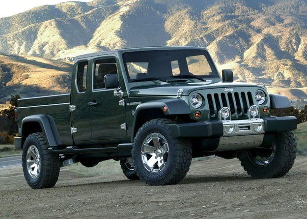 Jeep собирается возродить название Gladiator для нового пикапа