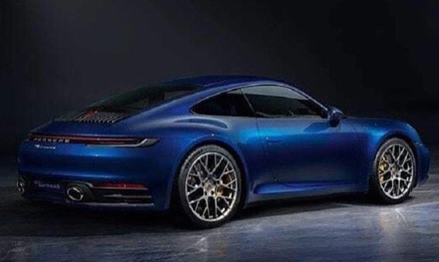Рассекречен дизайн нового Porsche 911