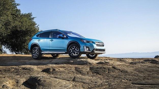 Subaru представляет первый гибрид в своей истории