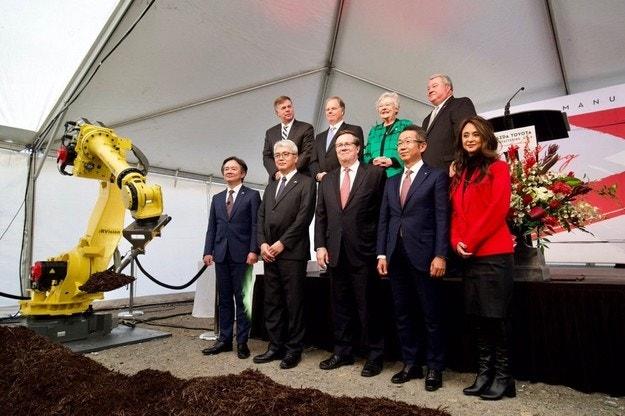 Toyota и Mazda построят совместный завод в США