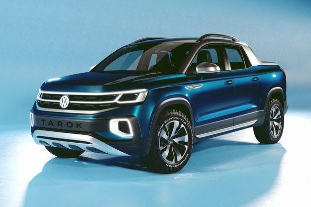Volkswagen показал компактный пикап