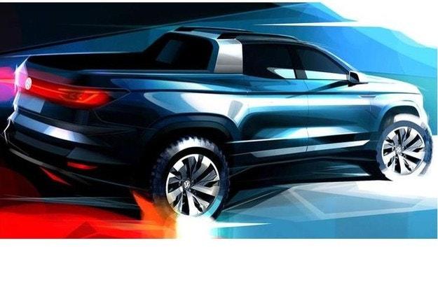 VW покажет компактный пикап