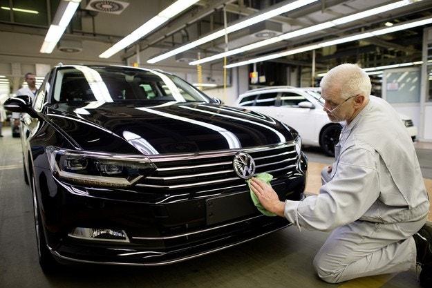 VW будет перемещать производство Passat в Чехию