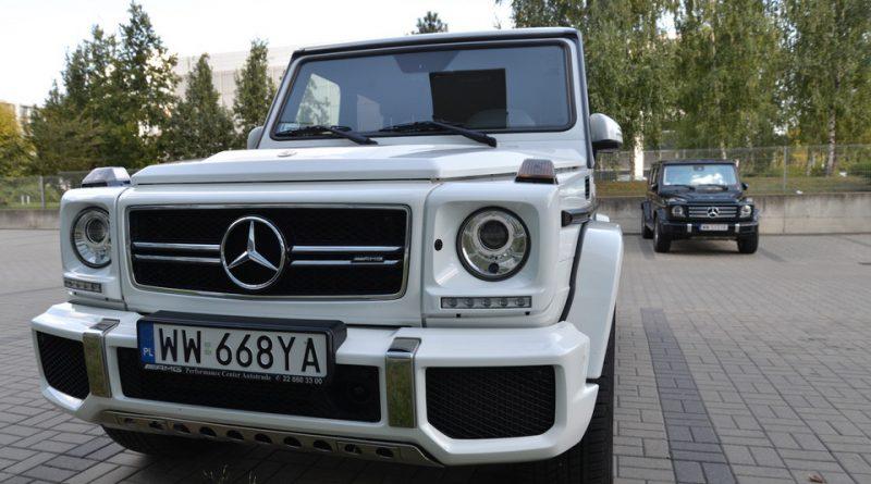 Mercedes G-Class - две легенды легенды