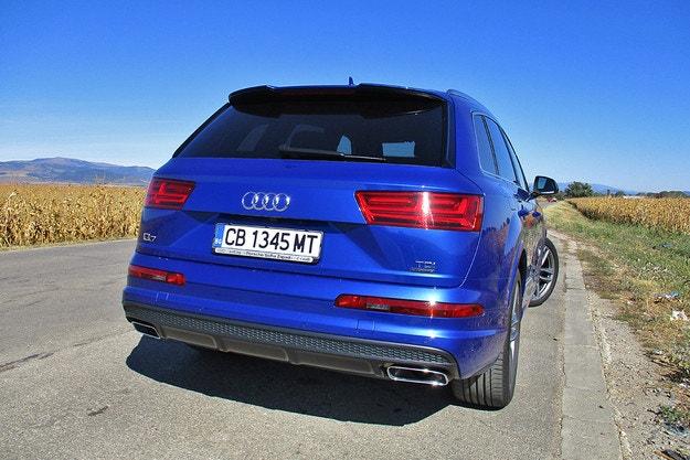 Audi Q7 3.0 TDI: универсальный боец