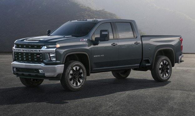 Chevrolet представила новый пикап Silverado HD