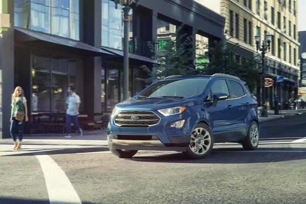 Ford с рекордными продажами внедорожников в Европе