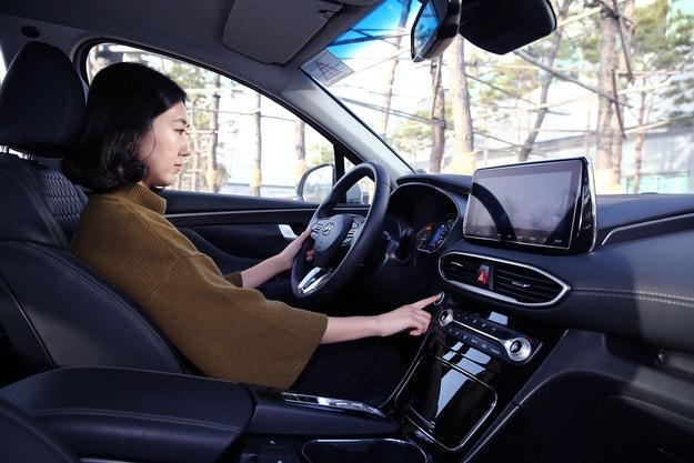 Hyundai использует идентификацию по отпечатку пальца