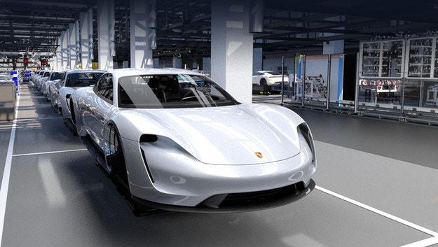 Porsche Taycan получит приставку Turbo