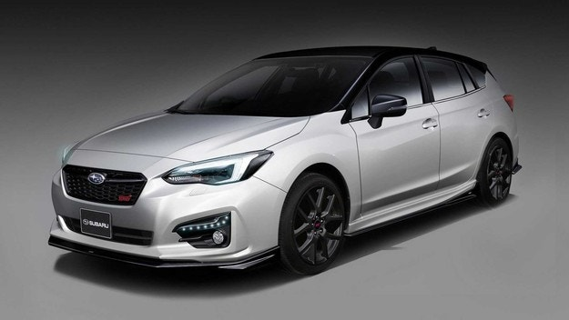 Subaru показала STI версии Forester и Impreza