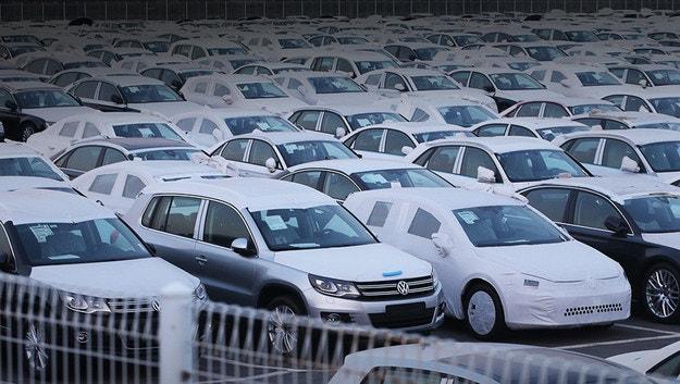 Новый скандал c Volkswagen