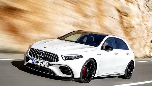 Характеристики нового поколения Mercedes-AMG A45
