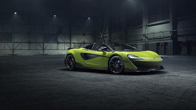 McLaren представила 600LT Spider