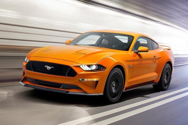 Ford Mustang снова доминирует среди muscle cars