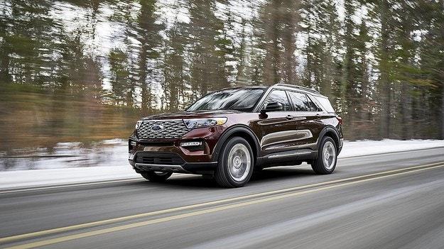 Ford представил новый кроссовер Explorer