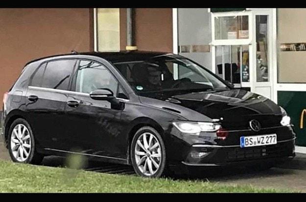 Новый Volkswagen Golf без камуфляжа