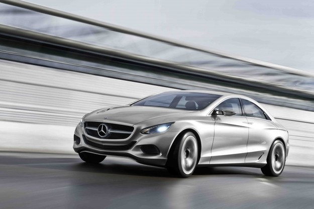 Mercedes-Benz S-Class электрическая версия