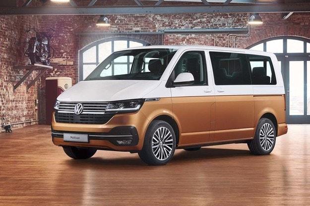 Volkswagen представил обновленный Multivan