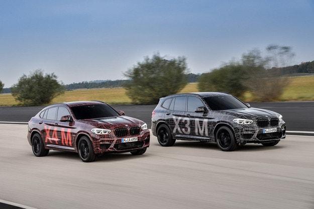 BMW показала спортивные версии кроссоверов X3 и X4