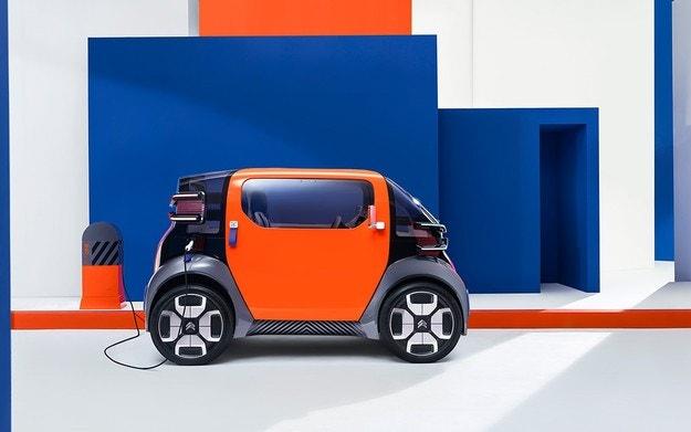 Citroen представляет ультракомпактный электромобиль